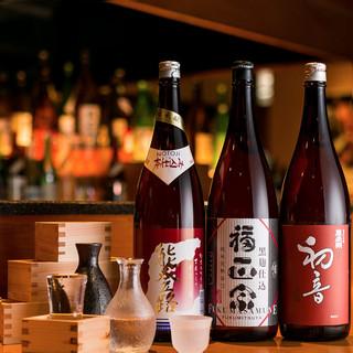 厳選日本酒♪日替わりですので売り切れご注意!
