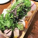 86935979 - 前菜の盛り合わせ(豚のテリーヌ、フォアグラと鴨胸肉の生ハムのテリーヌ、鶏レバーなど)
