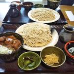 蕎麦 脇本 - 飛騨牛ミニステーキ丼+そばセット