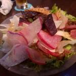 i-na cafe - 鎌倉野菜のサラダ(920円)