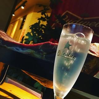 ◆居酒屋には珍しいパルマ産生ハム◆