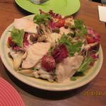 MARKET CAFE - キノコと鶏むね肉のシーザーサラダ