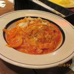 MARKET CAFE - アマトリチャーナのトマトソース