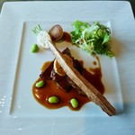 86942715 - メイン肉料理