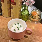 86942734 - ランチのスープ