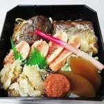 駅弁山崎屋 - 料理写真:コレが鱈めし