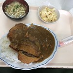 お食事処 波布 - 2018年5月29日  カツカレー(カツが2枚) 750円