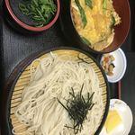 五月庵 - 料理写真:カツ丼とざるそばセット♫680円♫