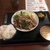 居酒屋 たけちゃん - 料理写真:生姜焼き定食780円、ご飯はこれでも普通盛