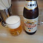 大勝軒 - ドリンク写真:ビール500円