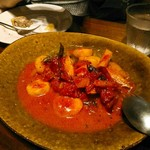 ビストロ ディヴァン - じゃが芋のニョッキ トマトクリームソース  1300円(税別)