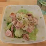 横浜ラーメン 北村家 - 料理写真:キャベチャー(150円)