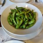 燕三条イタリアン Bit - 枝豆のアンチョビガーリックソテー