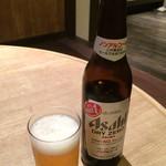 炭火焼肉虎至 - ノンアルコールビール