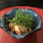 86948815 - 牛肉の炙り胡椒酢