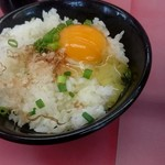 ラーメン山岡家 - 卵かけご飯