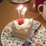 ピエールブラン - ショートケーキでおいわい!