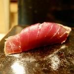 四季の鮨 蔵人 - 料理写真:[2018/05]寿司⑧ 千葉勝浦産赤身漬けの握り