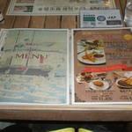 函館カレー エクスプレス - メニュー表紙とランチメニュー