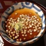 紫仙庵 - 蕎麦豆腐