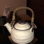 紫仙庵 - 蕎麦湯