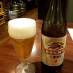 チャイナ厨房 - 瓶ビール
