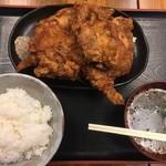 86953970 - 鶏の唐揚げ定食