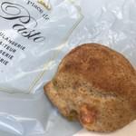 プラス ドゥ パスト - グリーンオリーブとチーズのライ麦パン(2018.6.3)