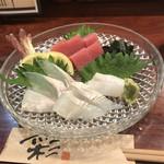 季彩 - マグロ イカ ヒラメ