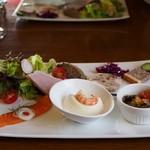 テロワール - 料理写真:前菜盛り合わせ