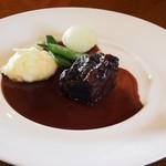 86955097 - 牛ほほ肉の赤ワイン煮込み