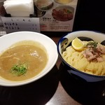 86956140 - 純濃煮干しつけ麺 (890円)