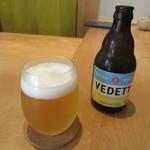86956418 - ビール「VEDET エクストラ ホワイト」