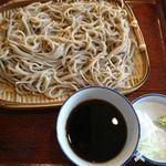 安曇野そば - せいろ大盛り(690円)
