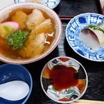 86959035 - 中華そば・鯖寿司