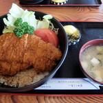 藤屋食堂 - ソーストンカツ丼ジャンボ