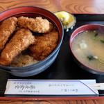 藤屋食堂 - ソースカツ丼(上ヒレ)