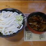 四方吉うどん - 料理写真:肉汁うどん中盛り930円