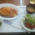 ケープタウン - 料理写真:オムライスセット 500円
