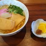 石部宿 田楽茶屋 - 料理写真:茶屋うどん450円(税込)