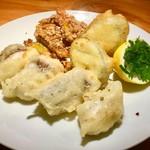 道後Cafe&Bar ゆのか - 鯛と野菜のフリットミスト