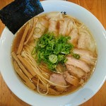 ShiNaChiKu亭 - 醤油ワンタン麺大盛1000円+100円