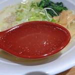 れんげ食堂Toshu - ほぼ透明なスープ