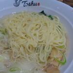 れんげ食堂Toshu - 細麺