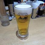 れんげ食堂Toshu - ちょい呑みセットの生ビール