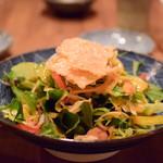 ずず ハナレヤ - 【飲み放題付きコース@税込3,500円】サラダ
