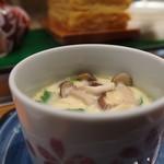 一徹鮨 - 茶碗蒸し