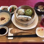 sakankissako - 薬膳飲茶膳(1,620円 税込) 本日は、青椒肉絲付き。