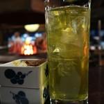 陸蒸気 - 緑茶ハイ