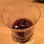 調整 - 食後のコーヒーのお酒